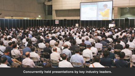Concurrently held presentations by key industry leaders.