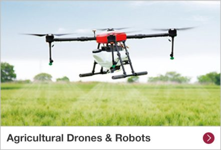 Agricultural Drones & Robots