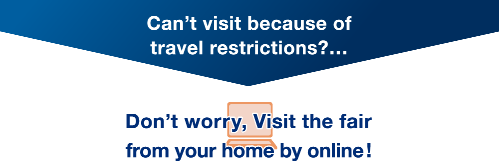 Can't visit because of travel restrictions?…